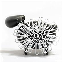 マグネットでクリップを付けてモコモコな動物に Animal Clip Holder(アニマル クリップ ホルダー) sheep ブラック