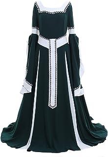 CosplayDiy Women's Deluxe Medieval Renaissance Victorian Dress Costume