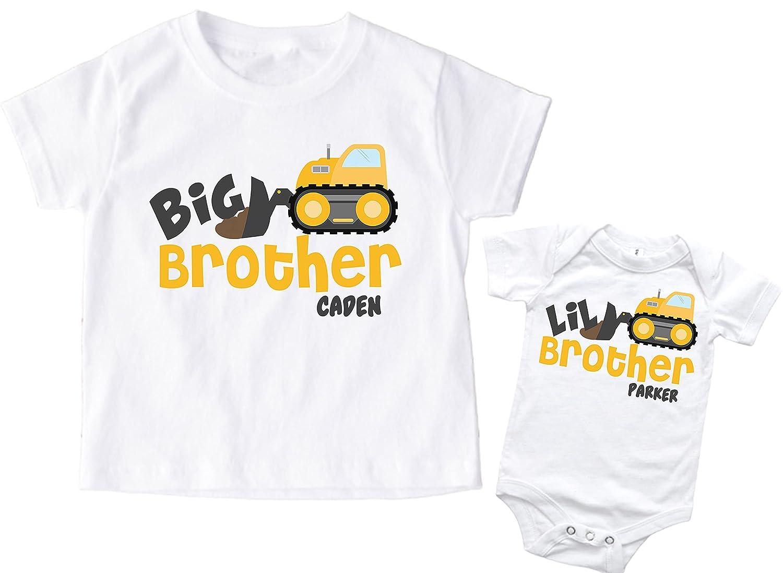 Big Superlatite Brother Little Shirt Personalized wholesale Boy Se Truck