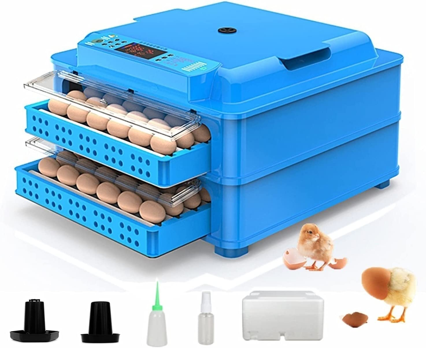 Ranking TOP12 YAWEDA 128 Egg Incubator Poultry Machine Hatcher with Hatching Al sold out. D