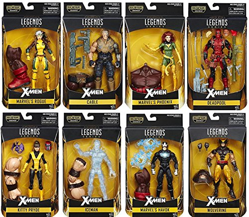 X-Men Marvel Legends 6-Inch Action Figures Wave 1 Set of 8