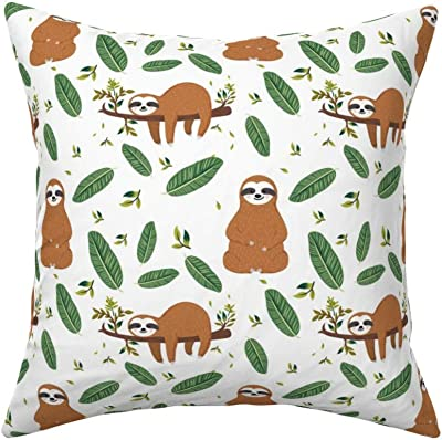 Pear Neutral Background Throw Pillow Cover W Optional Insert By Roostery Binnenhuisinrichting Kussens, Stoelzitjes