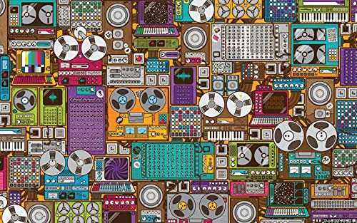 Rompecabezas Para Adultos Mezcladores De Música De 1000