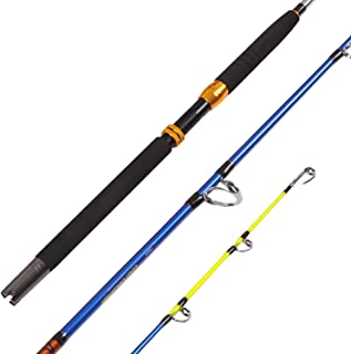 Fiblink Saltwater Offshore Heavy 2-Piece/1-Piece Conventional Boat Fishing Rod