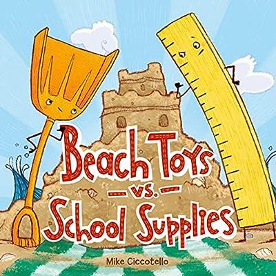 Beach Toys vs. School Supplies from Farrar, Straus and Giroux (BYR)