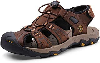 [LuckyDays-JP] メンズ サンダル カメサン 登山サンダル ビーチサンダル スポーツ アウトドア フラット コンフォート 大きいサイズ 夏用 軽量 ベルクロ カジュアル 靴 リラックス 軽い 柔らかい つま先保護 ブラック