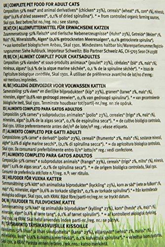 YARRAH Bio Katzenfutter Pate mit Huhn 400 g, 12er Pack (12 x 400 g) - 6