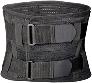 Tcare Lumbar Lower Back Brace and Support Belt - for Men & Women Relieve Lower Back Pain with Sciatica, Scoliosis, Herniated Disc or Degenerative Disc Disease Back Pain Relief (M)