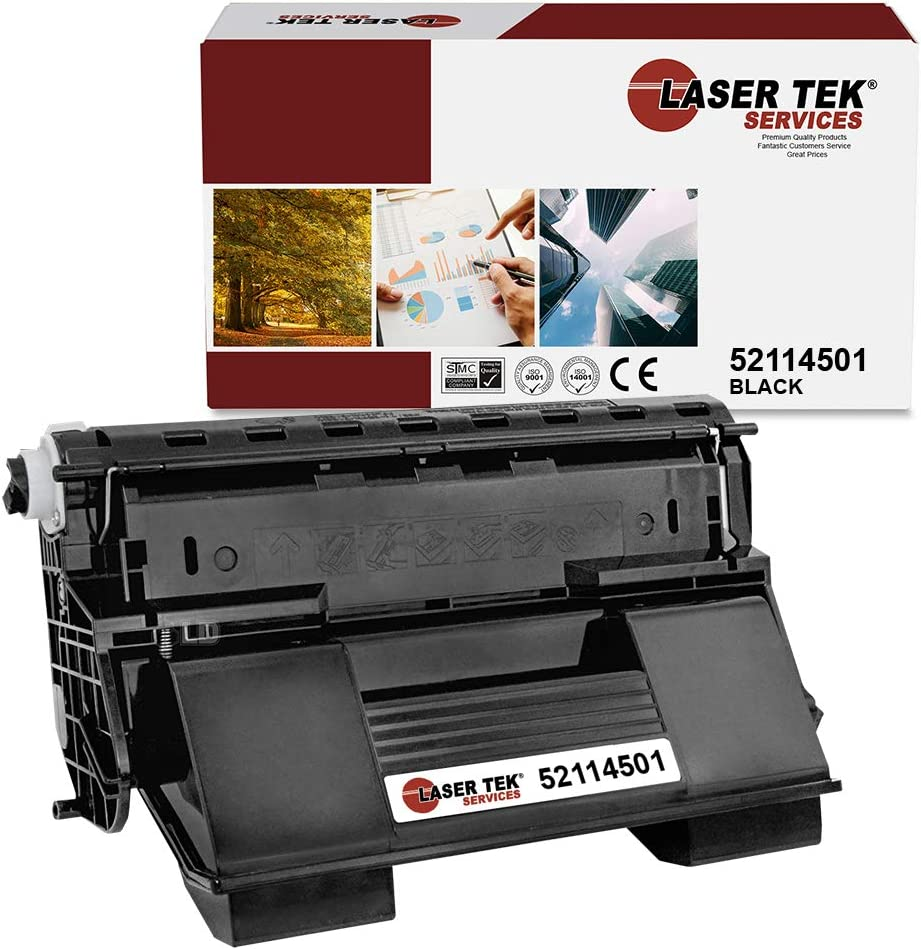 Laser Tek Services Free shipping anywhere in the nation Compatible Okidata Cartridge Toner R Year-end annual account 52114501