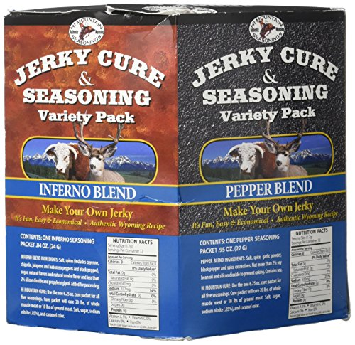Hi Mountain Jerky Seasoning Variety Pack No. 2 Contains Five Flavors