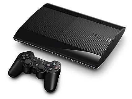Playstation 3 Konsole Super Slim 12 Gb Inkl Dualshock 3 Wireless Controller Amazon De Games