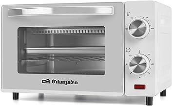 Orbegozo HO 970 Four électrique, 10 litres de capacité, chaleur supérieure et inférieure, minuteur, régulateur de températ...
