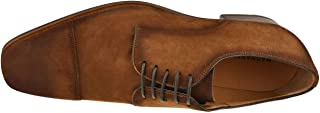 Lyle Cognac Suede Men's Lace-up Shoes
