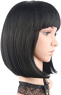 black pageboy wig