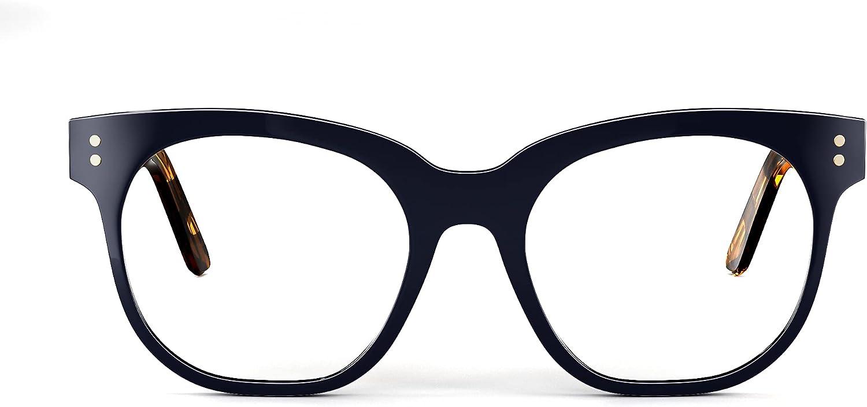 VOFO VISION Blue Light Glasses for Women Anti UV Glare, Oversized Gaming Computer Blue Light Blocking Glasses VF2405