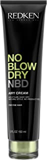 Redken No Blow Dry NBD Airy Cream for Fine Hair, 150ml