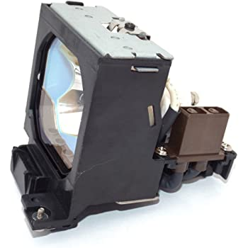 Replacement Lamp Assembly with Genuine Original OEM Bulb Inside for Eiki LC-WXL200 Projector Power by Ushio