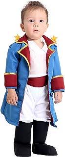 O Pequeno Principe Bebê Sulamericana Fantasias Branco/Azul P 1 Ano