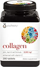 Youtheory Collagen Advanced with Vitamin C, 290 Count (1 Bottle)