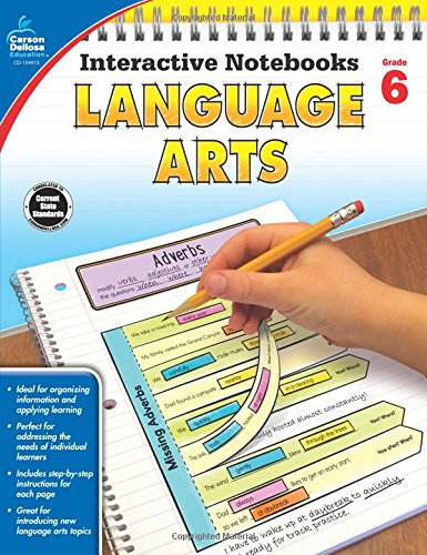 Language Arts, Grade 6 (Interactive Notebooks)