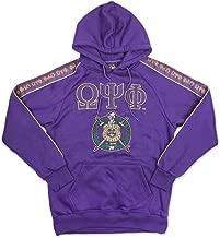 Omega Psi Phi Fraternity Men's Pullover Hoodie Purple