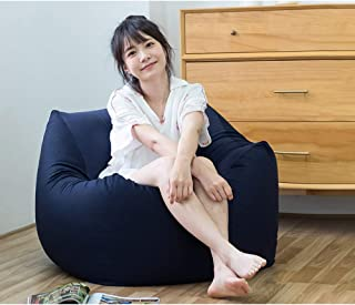 MUHONG Gaming Beanbag Seat Loungerbean Sofa Single Bedroom Recliner Washable EPP Material Bean Bag Chair  65 43Cm 25 6 16 9inch  E 65CM 43CM 65CM