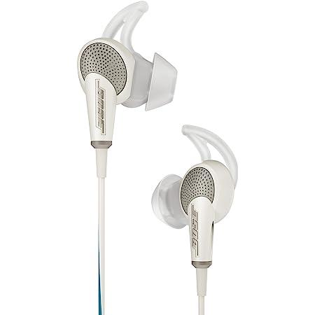 Bose QuietComfort 20 Acoustic Noise Cancelling headphones - Apple devices, White [並行輸入品]