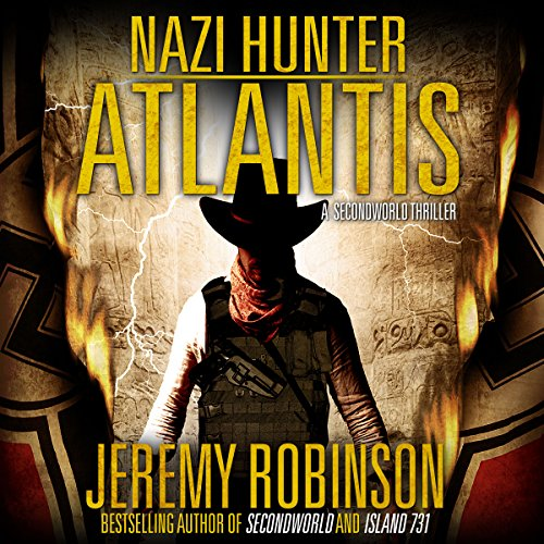 Nazi Hunter: Atlantis audiobook cover art