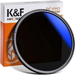 K&F Concept Filtro ND Variabile 46mm ND2-400 (1-8.6 stop) Serie K in Vetro Ottico con Nano-Coating a 16 Strati per obiettivi 46mm