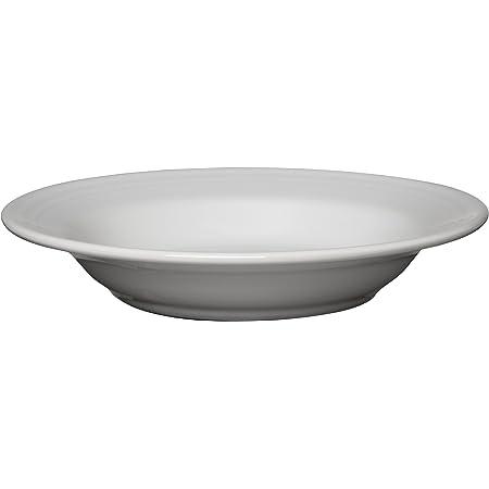 Amazon Com Fiesta 9 Inch 13 1 4 Ounce Rim Soup Bowl White Soup Bowl Flat Rim Soup Bowls