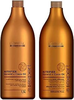 Kit Nutrifier Loréal Professionnel Shampoo e Condicionador 1,5L