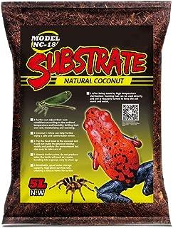 OMEM Reptile Terrarium Substrate Liner Special Coconut Soil Fiber Bedding Mat for Moisturizing Reptile Lizard Tortoise Spider Scorpion Supplies