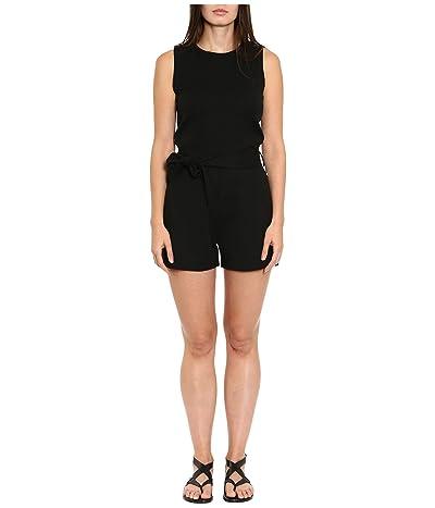 MICHAEL Michael Kors Snap Short Jumpsuit (Black) Women