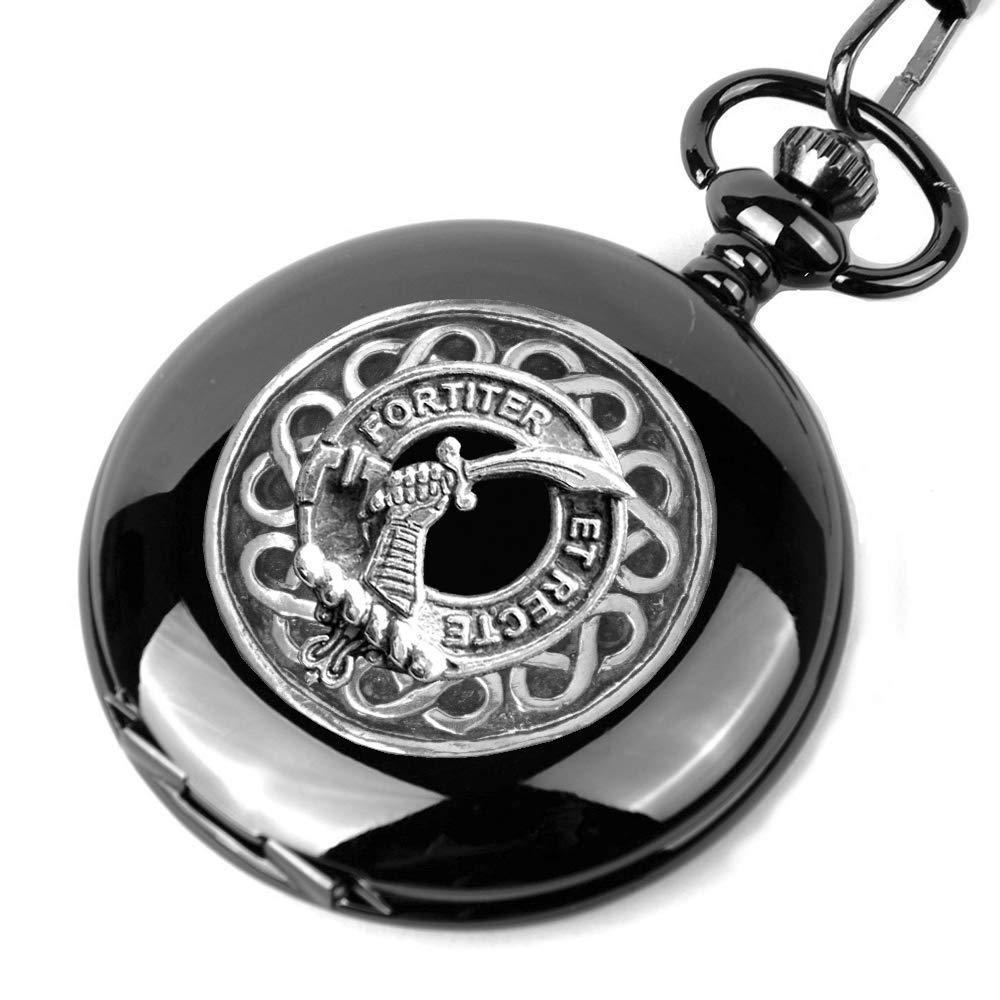 25% OFF Elliott Detroit Mall Scottish Silver Clan Black Watch Pocket Crest