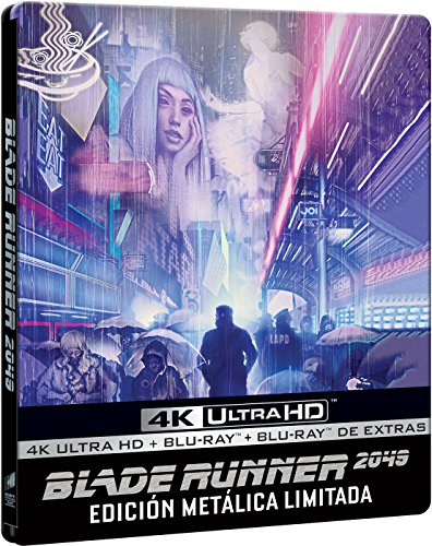 Blade Runner 2049 (4K UHD + BD + BD Extras) (Edición Especial Metal Limitada) [Blu-ray]