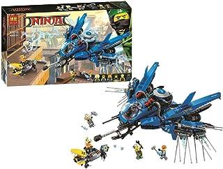 Bela Ninjago Airplane Lightning Jay Building Blocks 912 Pcs - 04332