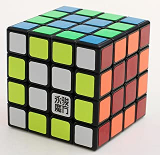 TANCH Speed Cube 4x4x4 Magic Cube Puzzle Toy Black