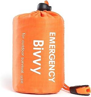 Life Bivy Emergency Sleeping Bag Thermal Bivvy - Use as Emergency Bivy Sack, Survival Sleeping Bag, Mylar Emergency Blanke...