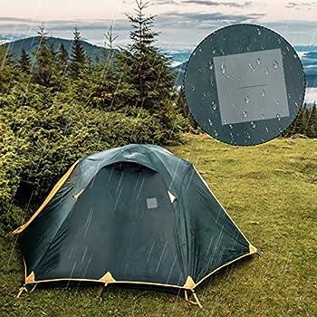 Patch Réparation Tente TPU Tape Transparent Réparation Autocollants étanches pour Camping Sacs à Dos Auvents 7x7cm 10 Pièces