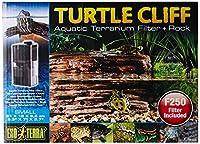 Exo Terra Turtle Cliff Aquatic Terrarium Filter/Rock, Small by Exo Terra