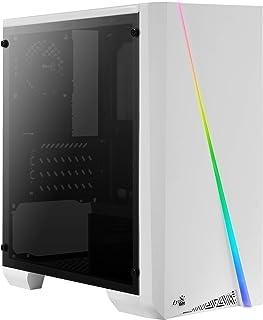 Aerocool Cylon Mini, caja PC Micro ATX blanca, RGB 13, venta