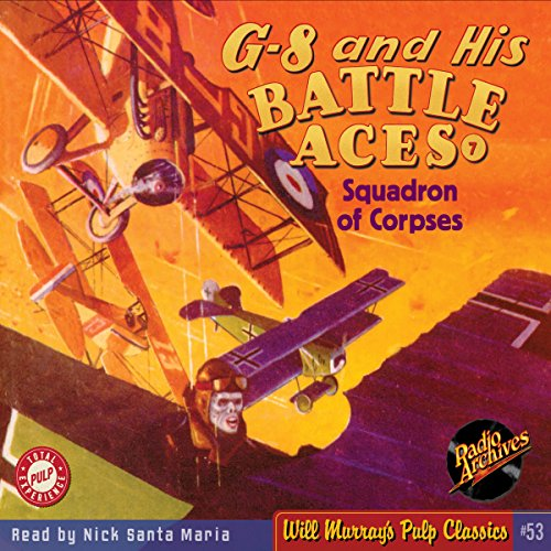 G-8 and His Battle Aces #7, April 1934  By  cover art