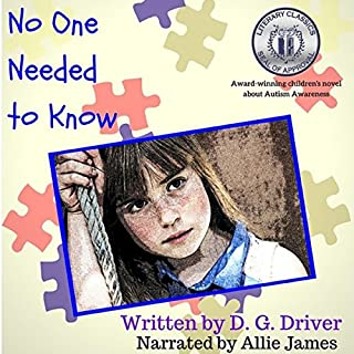 No One Needed to Know audiobook cover art