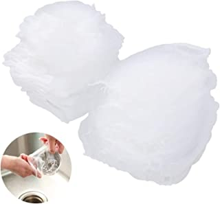 TMYQM 100pcs Disposable Garbage Bag Sink Drain Hole Mesh Trash Filter Bag Rubbish Waste Bin Garbage Bags Kitchen Accessories