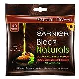 Garnier Black Naturals, Shade 4, 20 ml+20g (Pack of 8)