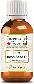 Sponsored Ad - Greenwood Essential Pure Onion Seed Oil (Allium cepa) 100% Natural Therapeutic Grade Cold Pressed for Perso...