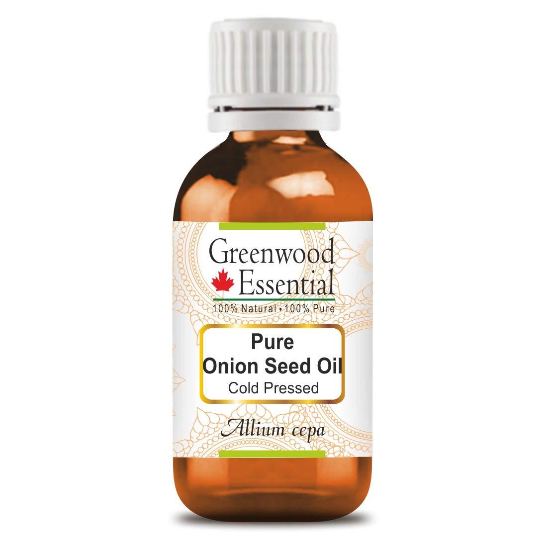 Greenwood Essential Pure Onion Seed Oil (Allium cepa) 100% Natur