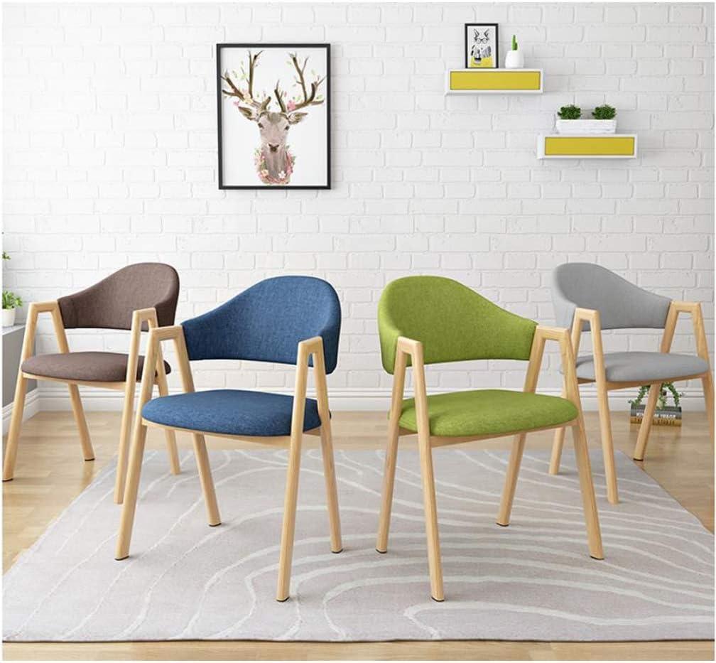 Stable Simple chaise bureau étudiant et chaise de maquillage tabouret retour à la maison à manger chaise d'ordinateur Gratuit (Color : Orange) Green