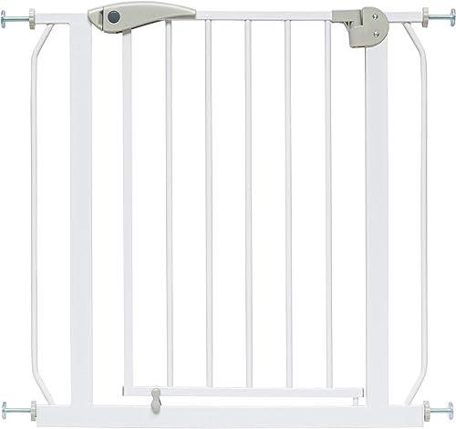 ib style®Berrin ! GAGNANT DU TEST ! barrière de sécurité 58-156cm | Sans percage | Auto-Close | 58-66 cm