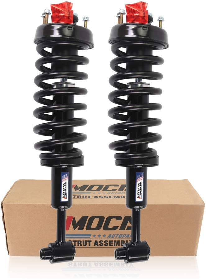 MOCA 171398 Pair 2 Front Complete High quality new and excellence Strut Spring Coil Assembly